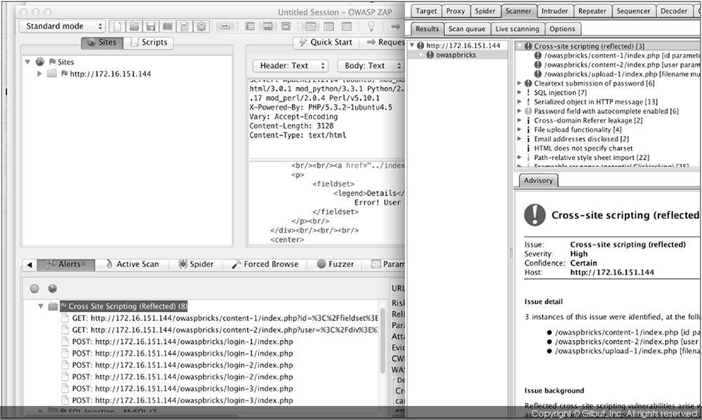 해커 플레이북 2: 2 5 3 OWASP ZAP 프록시(윈도/칼리 리눅스/OS X) - 1